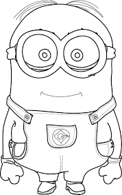 Minions Coloring Pages Feeling Groovy Free Emotions Printable Full Size