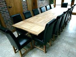 Large Extending Dining Table E Round Seats Reclaimed Wood Traditional Room Tables For