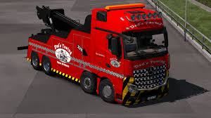 100 Tow Truck Simulator Mercedes Actros MP IV Euro 2 Mod