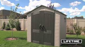 Suncast Horizontal Storage Shed 32 Cu Ft by Outdoor Attractive Rubbermaid Shed For Outdoor Storage Idea