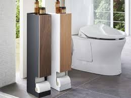 yamazaki toilettenpapierständer mit ablage 119 00 bad