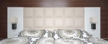 schlafzimmer bett wandverkleidung tischlerei semo