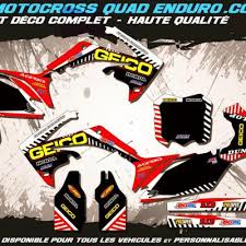 kit deco crf 250 kit déco perso 250 crf 10 13