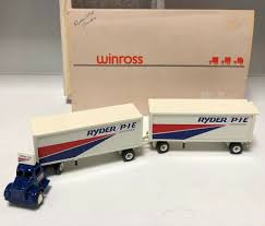 100 Winross Trucks For Sale 31199 WINROSS ORIGINAL AUSTIN RYDER PIE Tractor W Double Trailers