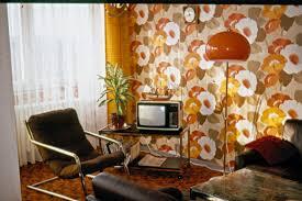 wohnzimmer in den 70er jahren in diesem traum einem wo