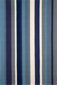 Newport Vertical Stripe Marine 166003 Rug From The Outdoor