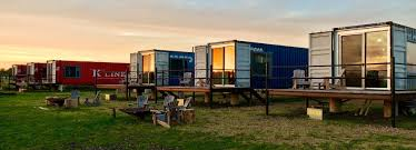 100 Shipping Container Homes Canada Ecochic Shipping Container Hotel Lets You Try Before You