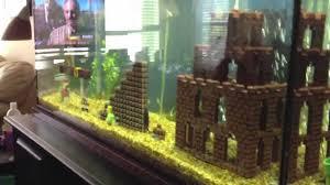 Star Wars Themed Aquarium Safe Decorations by Super Mario Fish Tank Youtube
