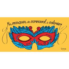 Masque De Carnaval Coloriage En Ligne Gratuit