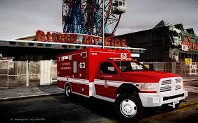 100 Gta 4 Fire Truck Mod 2011 Dodge Ram 3500 LAFD Ambulance Vehicle Els LCPDFRcom