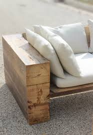 Rustic Sofa Couch Sectional Reclaimed Wood Indoor Outdoor Free Shipping