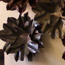 Medium Raw Metal Wall Flower