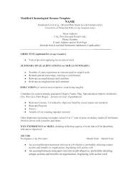 Example Of Resume Title Profile Sample Examples