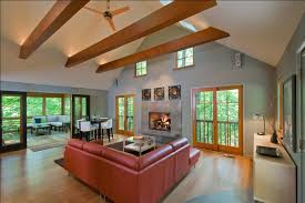 Paint Colors Living Room Vaulted Ceiling by Faux Ceiling Beams Living Room Contemporary With Backlighting