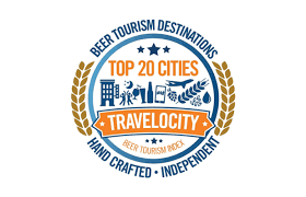 Craft Beer Tourism Travelocity Logo