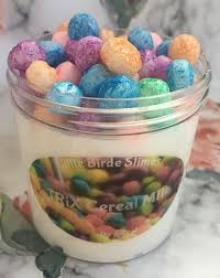 Trix Cereal Milk Slime Shop Thick With Foam Marshmallows