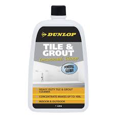 dunlop 1l tile and grout cleaner bunnings warehouse