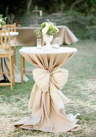 Cocktail Table Decor With A Big Bow