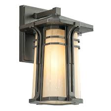 craftsman style wall sconces craftsman mission single light medium
