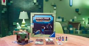 minecraft ravensburger veröffentlicht ein brettspiel für