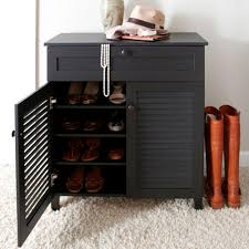 baxton studio calvin wood shoe storage cabinet in dark brown