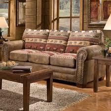 Amazon American Furniture Classics Sierra Lodge Sofa Kitchen