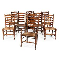 Lot 67 - SET OF EIGHT LANCASHIRE LADDERBACK CHAIRS 6 Ladder Back Chairs In Great Boughton For 9000 Sale Birch Ladder Back Rush Seated Rocking Chair Antiques Atlas Childs Highchair Ladderback Childs Highchair Machine Age New Englands Largest Selection Of Mid20th French Country Style Seat Side By Hickory Amina Arm Weathered Oak Lot 67 Set Of Eight Lancashire Ladderback Chairs Jonathan Charles Ding Room Dark With Qj494218sctdo Walter E Smithe Fniture Design A 19th Century Walnut High Chair With A Stickley Rush Weave Cape Ann Vintage Green Painted