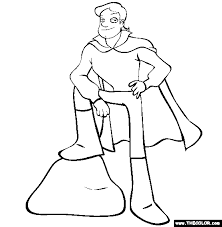 Prince Charming Online Coloring Page