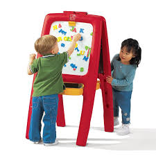 Step2 Art Master Desk And Stool by Review Step2 Easel For Two With Bonus Magnetic Lettersnumbers