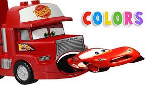 Heavy Construction Videos - Lightning McQueen Pacman Mack Truck ...