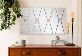 casa padrino designer wandspiegel mit 4 gucklöchern 80 x h 45 cm wohnzimmer spiegel garderoben spiegel luxus spiegel