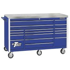 extreme tools ex2404scbl blue side cabinet