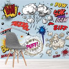 100 Pop Art Home Decor Details About Comic Book Explosions Wall Mural Photo Wallpaper Kids Bedroom