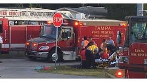 Vehicle Hits 3 Kids, 2 Adults At School Bus Stop In Tampa