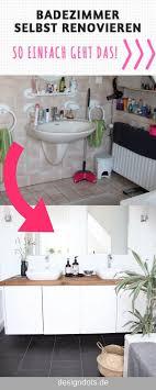 badezimmer selbst renovieren vorher nachher via