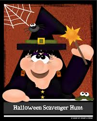 Easy Halloween Scavenger Hunt Clues by Spooky Fun U2013 Halloween Scavenger Hunt My Heart U0026 Home
