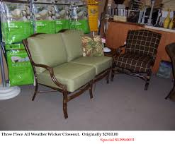 Closeout Deals On Patio Furniture by Furniture Discount Wicker Outdoor Furniture Closeout Patio Sets