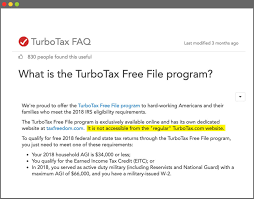 TurboTax Did Everything It Could To Hide The Free-Filing Its ... Itunes Discount Code Uk 2019 Ancient Aliens Promo Turbotax Rebate 2018 David Baskets Platformbedscom Coupon Madhouse Reading Voucher Discount Bank Of Americasave With Top New Deals In Turbotax Selfemployed Discounts Service Codes How Tricks You Into Paying To File Your Taxes Digg Hot Grhub Promo For Existing Users 82019 Review Easy Use But Expensive Price Reddit Municipality Taraka Lanao Del Sur 25 Off Coupon September