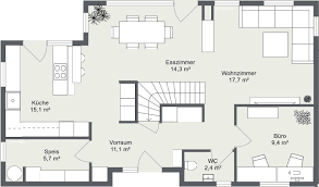 grundriss erdgeschoss chic decor home floor plans