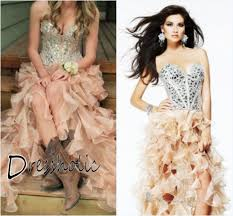 Country Ruffle Dress Fashion Dresses