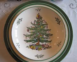 Spode Christmas Tree Platter by Christmas Color Calling