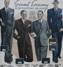 1930s Mens Fall Suit Colors