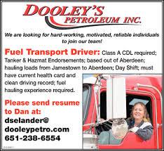 Driver, Dooley's Petroleum