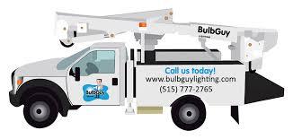 100 Bucket Truck Repair Home BulbGuy Lighting
