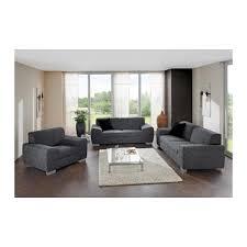 fauteuil canape ensemble salon fauteuil canapé 2 places canapé 3 places tissu