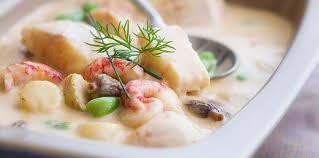 recette de cuisine avec du poisson blanquette aux poissons et fruits de mer facile recette sur