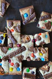 Top Halloween Candy 2013 by Leftover Halloween Candy Blondies Just A Taste