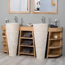 de wanda collection waschtisch badezimmer teak