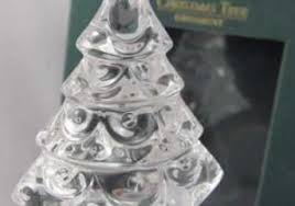 Vintage Nib Waterford Marquis Crystal Christmas Tree Ornament Retro Ideas Of Balls