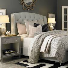 Bedroom Ideas Upholstered Headboard Cream Best White Dining